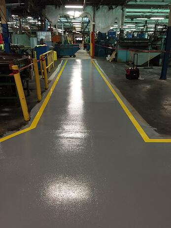 Epoxy Topping Systems - After