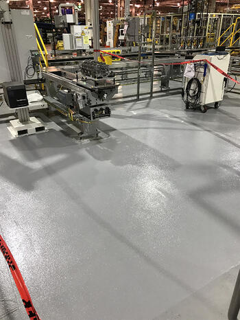 Trowel Down Patching - Ford Cleveland